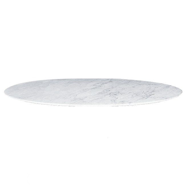 White Marble Table Top Sandler Seating