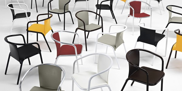Mare Chair by Marc Sadler for Metalmobil
