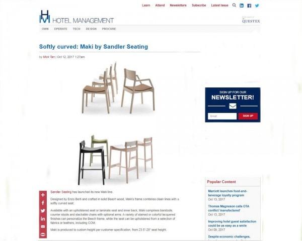 Press Sandler Seating