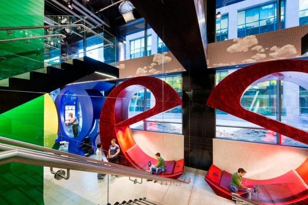 Google Dublin (Designboom)