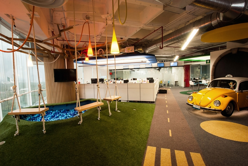 google office decor. Google Mexico (Designboom) Office Decor .