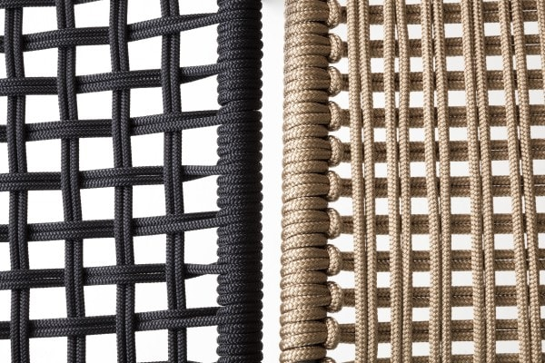 Two different types of weaving
